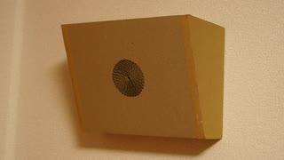 ダンボールで学校のスピーカーを作ってみた