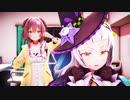 【塩パン】紫咲シオンと戌神ころねでうちで踊ろう Dancing On The Inside【MMDホロライブ】