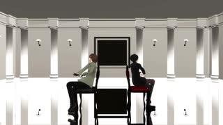 【MMDペルソナ】ジェヘナ(主人公&明智)