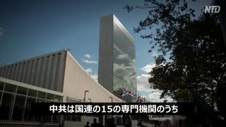 中共に浸透された国連で職員189人がウイルスに感染