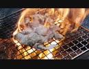 【野外飯】牛ホルモン大火力焚き火で豪快焼き!火事覚悟の大火力をご覧ください