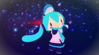 【MMD】うちゅうだいばくはつ(ふわミク)