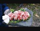 【野外飯】牛肉サイコロステーキの美味しい焼き方はこれだ!