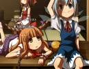 【ニコニコ動画】東方アニメ・エンディング風味 (BGM : 『KAZE NO KIOKU』)を解析してみた