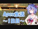 【Apex Legends】鳴花ミコトのApex生活~1日目~【ガイノイドTalk実況】