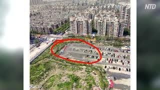 居住区のド真ん中に変電所建設・武漢で市民が抗議