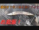 【野外飯】朝から秋刀魚食いたかったので焼いてみた