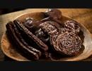 ディズニー公式チュロスをバキバキのミッキーチョコにアレンジしてみた【お菓子作り】ASMR