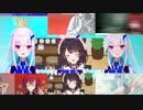 【音MAD】Funky Sanbaka (hybrid song)