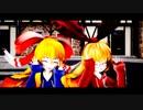 【東方MMD】アリスの人形(上海、蓬莱)で「うちゅーの☆ふぁんたじー」【第16回東方Project人気投票】