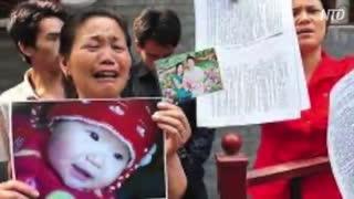 幼児の頭が巨大化・中国で再び起きた毒ミルク事件