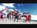 【アイドル部MMD】12人で「HORIZON」