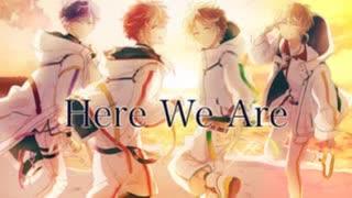 【ニコカラ】Here We Are《浦島坂田船》(On Vocal)±0