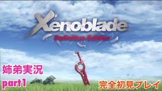 □■ゼノブレイドDEを初見実況プレイ part1【姉弟実況】