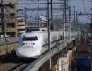 東海道新幹線700系ラストラン装飾