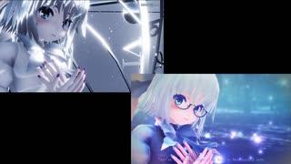 【東方MMD】It's only Cirno's tail【2窓同時再生】(エレクトリカ式チルノ)
