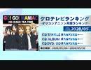 アニソンランキング 2020年5月【ケロテレビランキング】
