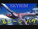 【バグ】 スカイリム名シーン - メインクエスト「世界を食らう者の巣」オダハヴィーングバグ【Skyrim】
