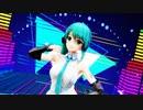 【アイドル部】神楽すずでダンスロボットダンス 初音ミクコス 【MMD】