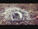 アウトドア『たき火で料理』猟師の山でご飯