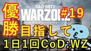 【CoD:WARZONE】概ね日刊CoD:WZ#19【BR SOLOS】