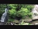 【恵庭/三段の滝】マイナスイオン 滝の音 BGM 北海道