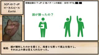【ゆっくり紹介】SCP-017-JP【ローカルルール】