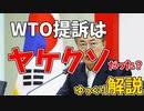 韓国がヤケクソで日本をWTOに提訴する話【ゆっくり解説】
