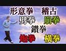 形意拳 五行拳【劈拳・崩拳・鑚拳・炮拳・横拳】発勁は明勁(暗勁や化勁は無し)孫禄堂を目指して稽古
