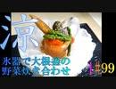 【涼理】氷器で大根釜の野菜炊き合わせ #99