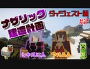 【マイクラ】オーバー労働!?ナザリック建造計画 #2【Liveダイジェスト】
