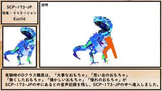 【ゆっくり紹介】SCP-173-JP【恐竜 - イミテーション】