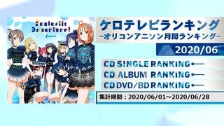 アニソンランキング 2020年6月【ケロテレビランキング】