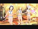 【あずさ・風花・莉緒】ラムネ色青春【セーラーミズギ】アピール2種