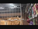 東武百貨店船橋店閉店時刻に伴うビックカメラ船橋東武店との境界のシャッター閉鎖の瞬間