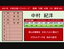2001年 大阪近鉄バファローズ 1-9応援歌
