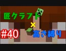 【minecraft】匠クラフト×高さ縛り #40【ゆっくり実況】