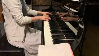 スーパーペーパーマリオの「おわりへのたたかい」をピアノで弾いてみた