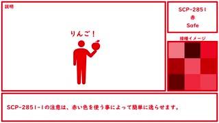 【ゆっくり紹介】SCP-2851【赤】