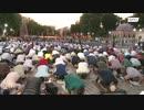 モスク化が決定したアヤソフィアにイスラム教徒集結