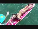 深田恭子 サーフィンで半ケツ