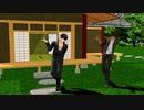 【MMD刀剣乱舞】無用と龍の打刀が宴会芸バーニングナイト