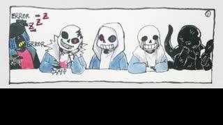 A little game~ ( Undertale Comic Dub )