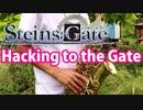アルトサックスで「Hacking to the Gate」(STEINS;GATE)を吹いてみた