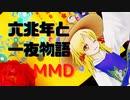 【MMD】「東方」洩矢諏訪子で「六兆年と一夜物語」4K/60fps