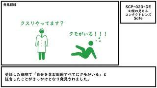 【ゆっくり紹介】SCP-023-DE【幻覚の見えるコンタクトレンズ】