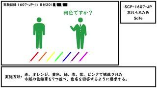 【ゆっくり紹介】SCP-1607-JP【忘れられた色】
