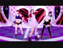 [FF7 MMD] STEP  --  エアリス, ティファ, ジェシー