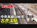 【未公開】中央本線の秘境・古虎渓駅 ワイドビューしなの他【青春18きっぷ2019】