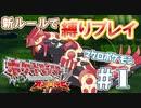 【実況】ポケモン マクロを使った鬼畜縛りプレイ【オメガルビー】#1